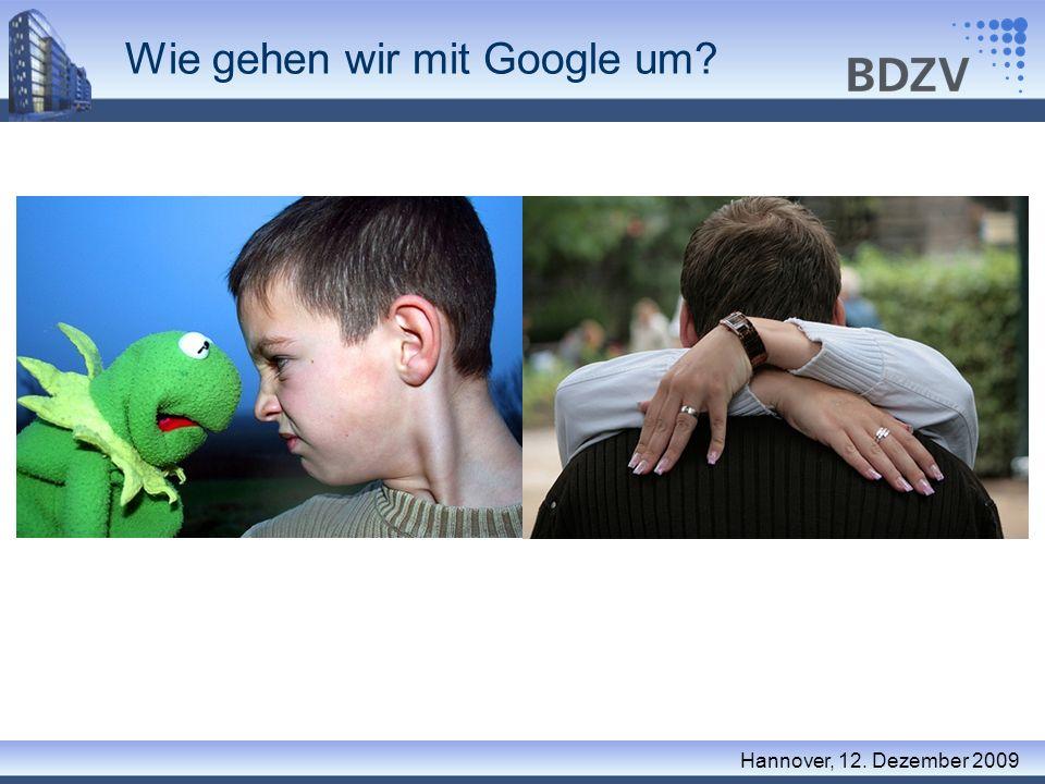 Wie gehen wir mit Google um