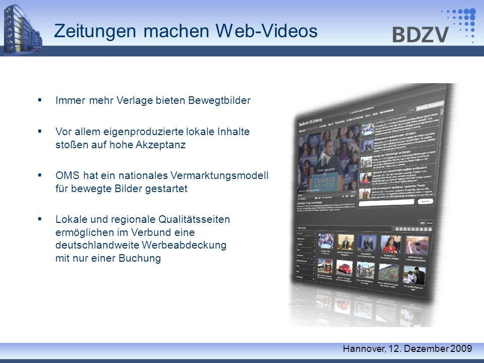 Zeitungen machen Web-Videos