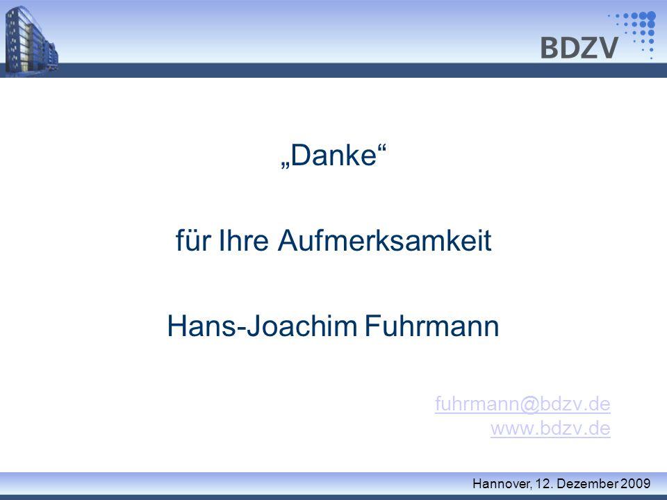 für Ihre Aufmerksamkeit Hans-Joachim Fuhrmann