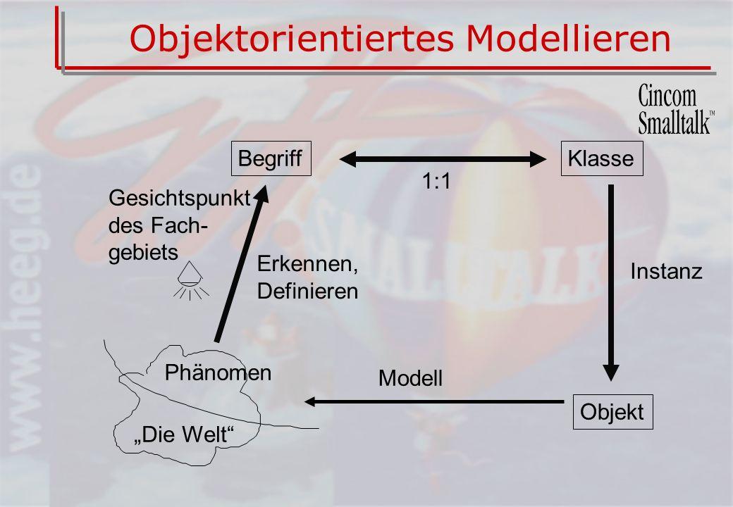 Objektorientiertes Modellieren