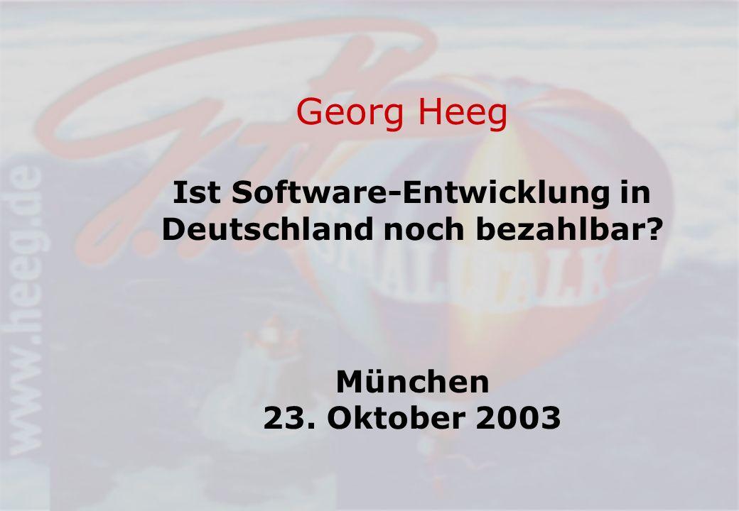 Ist Software-Entwicklung in Deutschland noch bezahlbar