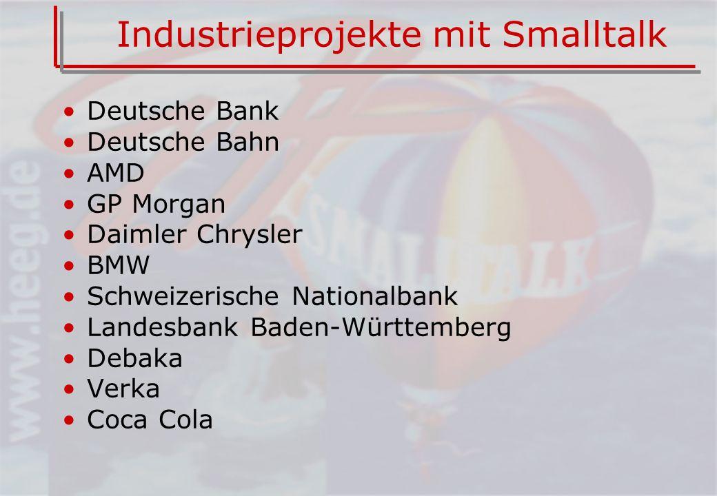 Industrieprojekte mit Smalltalk