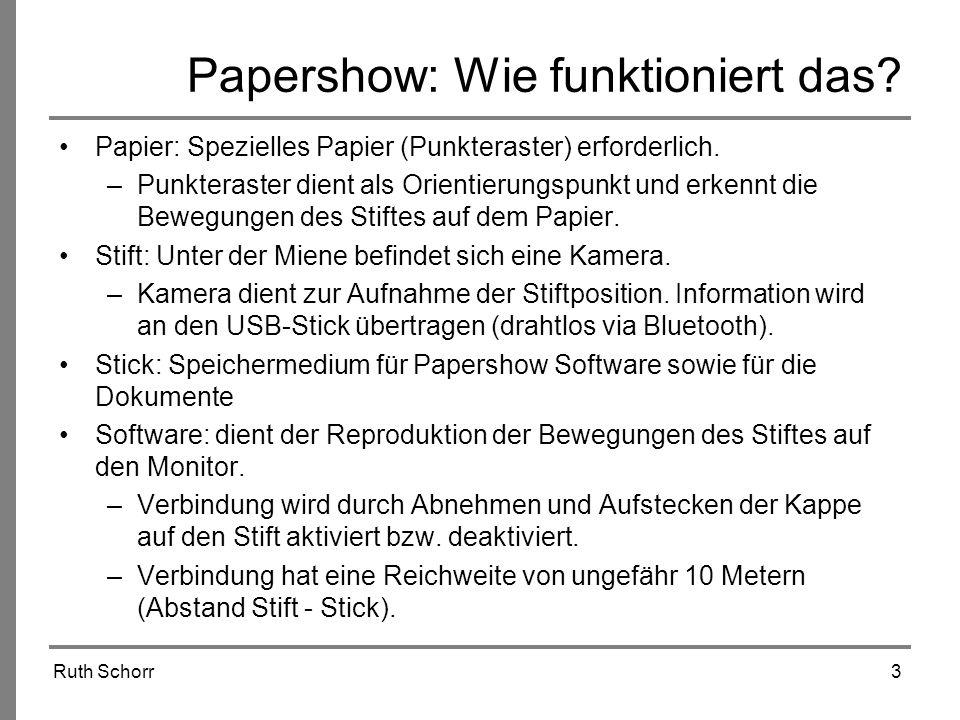 Papershow: Wie funktioniert das