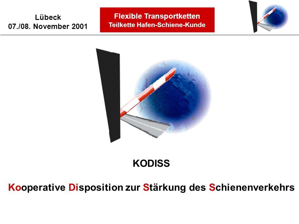Kooperative Disposition zur Stärkung des Schienenverkehrs