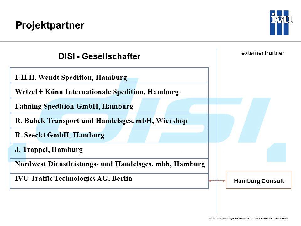 Projektpartner DISI - Gesellschafter F.H.H. Wendt Spedition, Hamburg