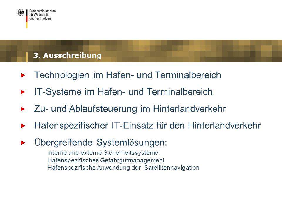 Technologien im Hafen- und Terminalbereich