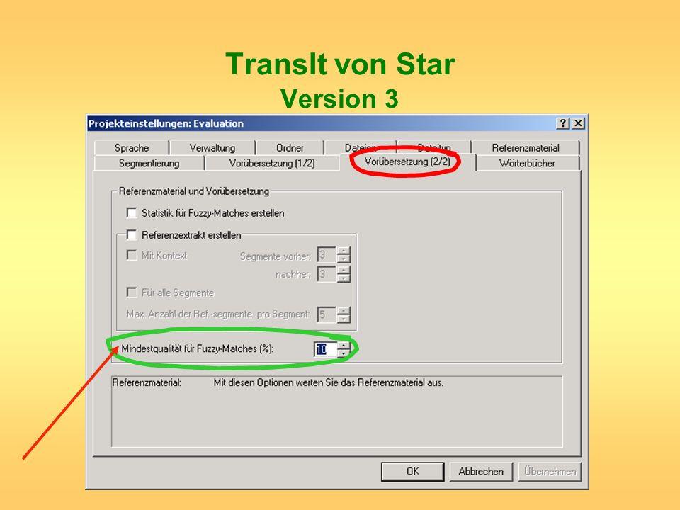 TransIt von Star Version 3