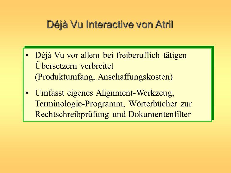 Déjà Vu Interactive von Atril