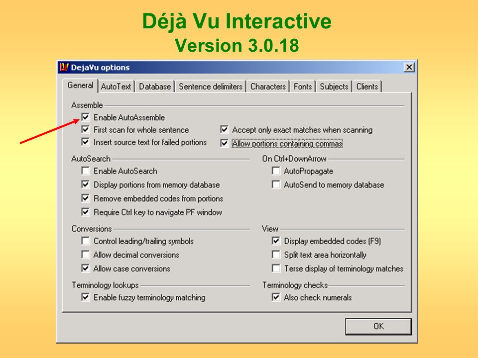 Déjà Vu Interactive Version 3.0.18