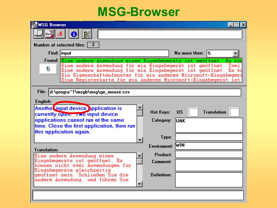 MSG-Browser