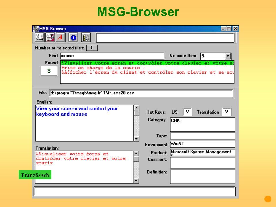 MSG-Browser Französisch
