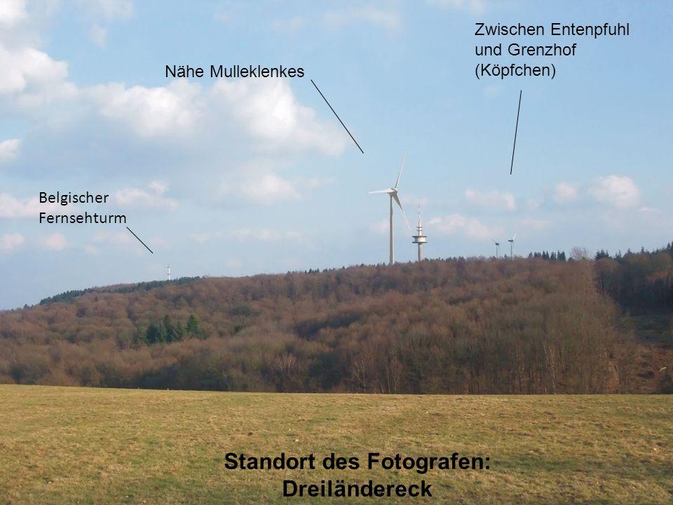 Standort des Fotografen: Dreiländereck