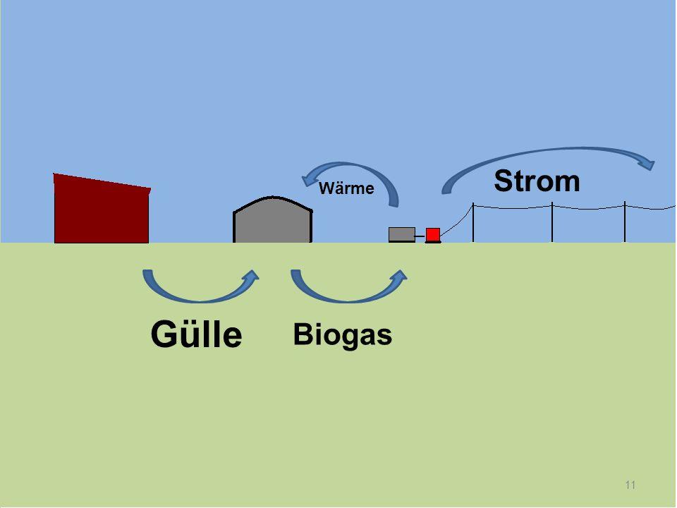 Strom Wärme _ Gülle Biogas