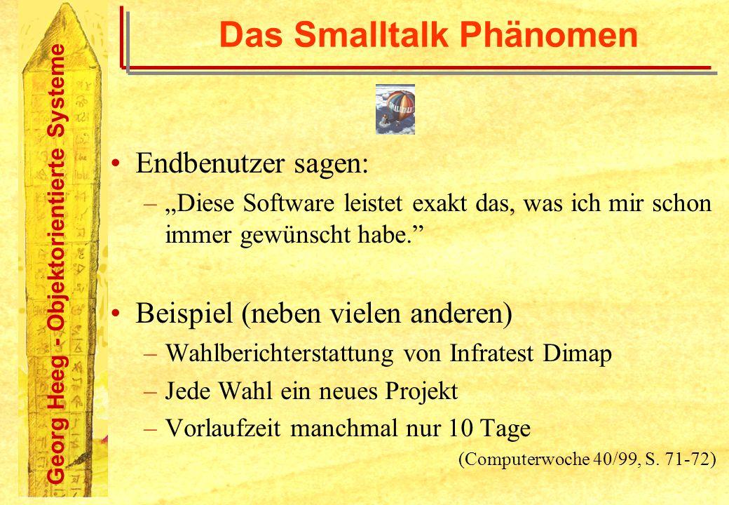 Das Smalltalk Phänomen