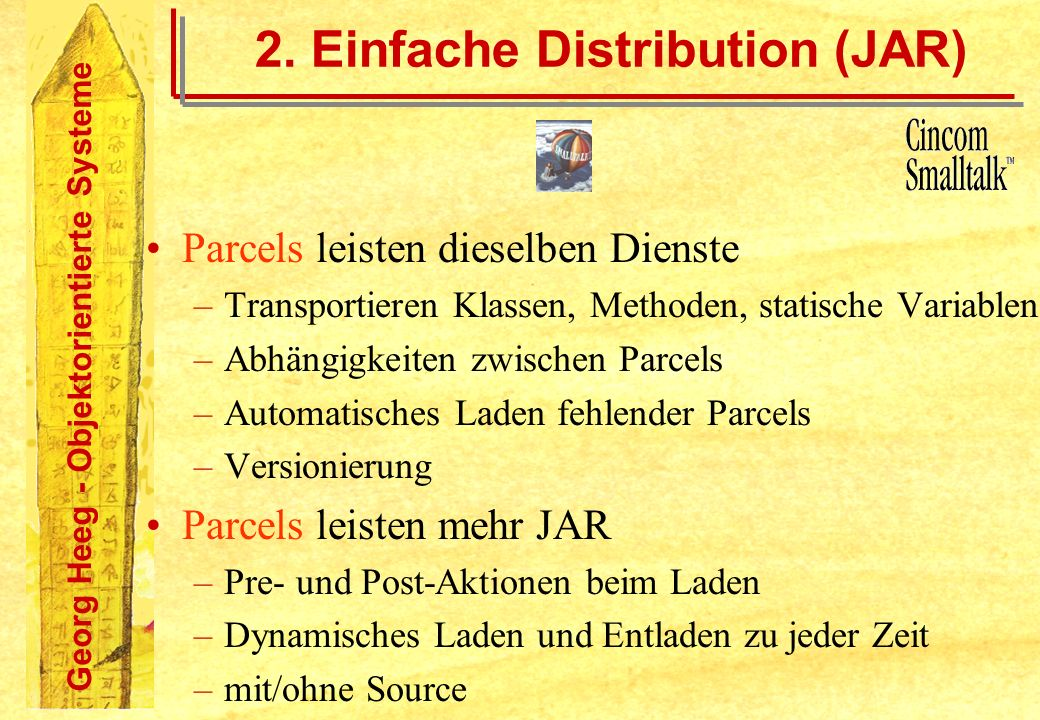 2. Einfache Distribution (JAR)