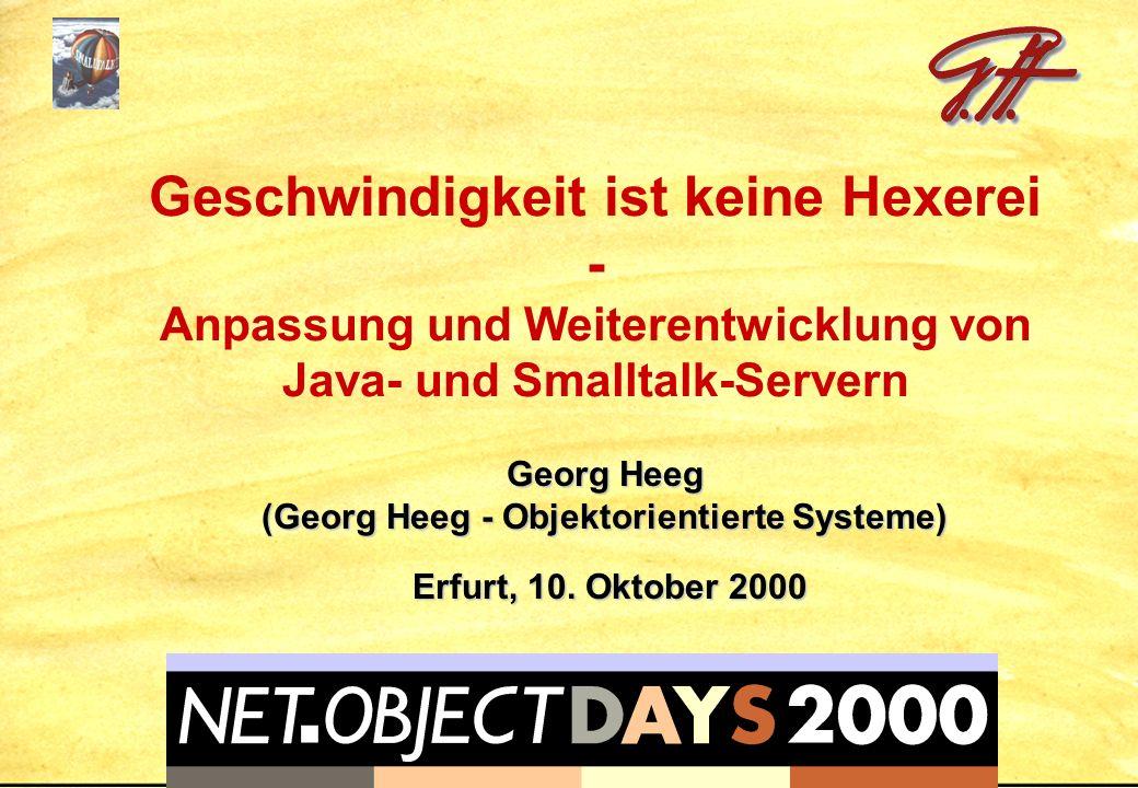 Georg Heeg (Georg Heeg - Objektorientierte Systeme)