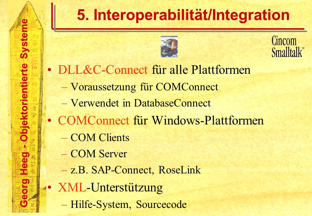 5. Interoperabilität/Integration