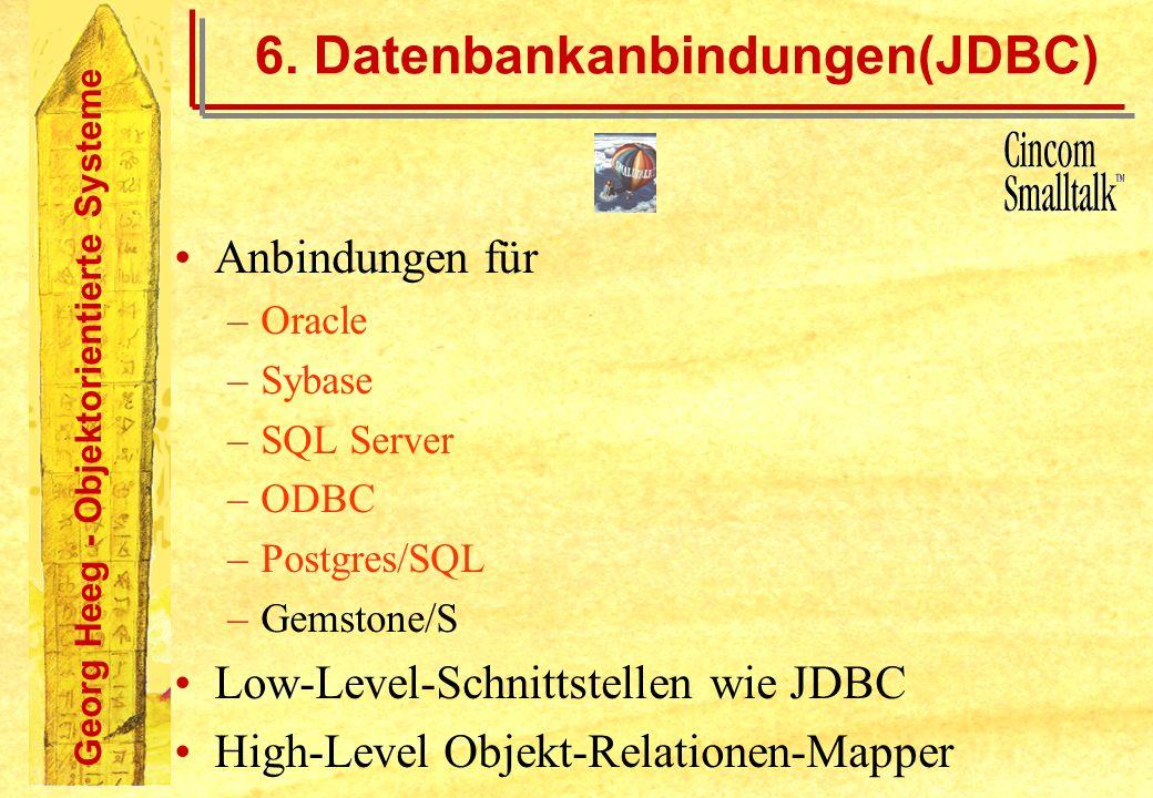 6. Datenbankanbindungen(JDBC)