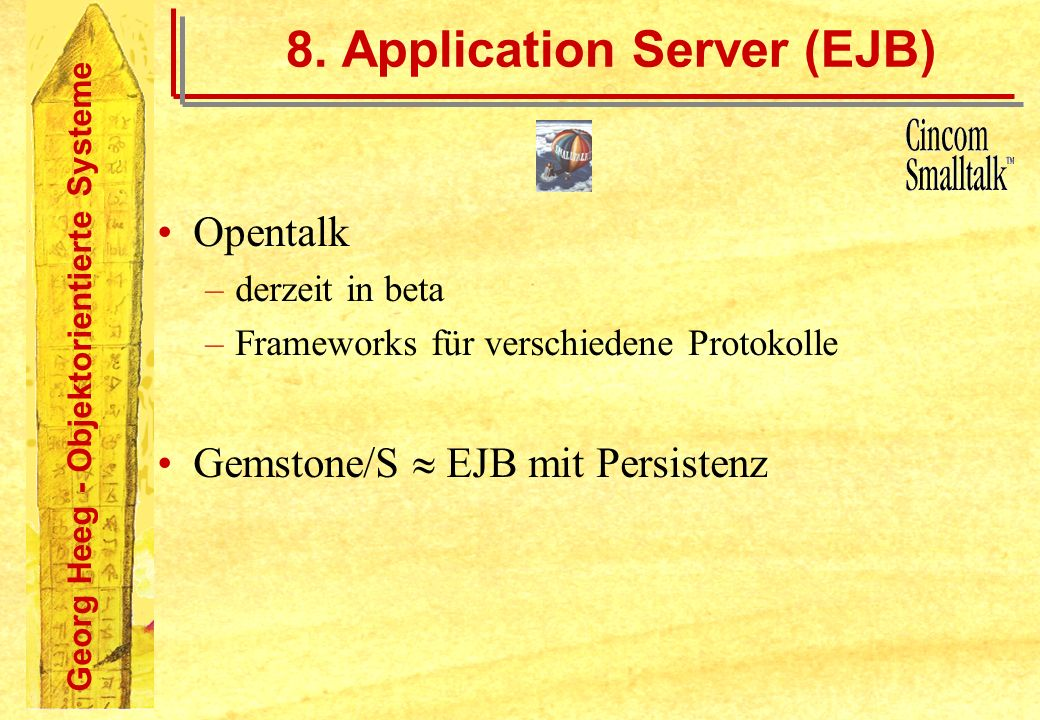 8. Application Server (EJB)