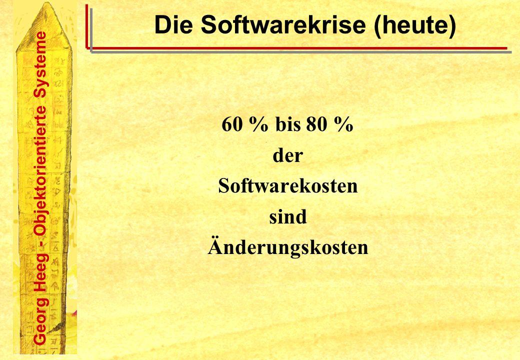 Die Softwarekrise (heute)
