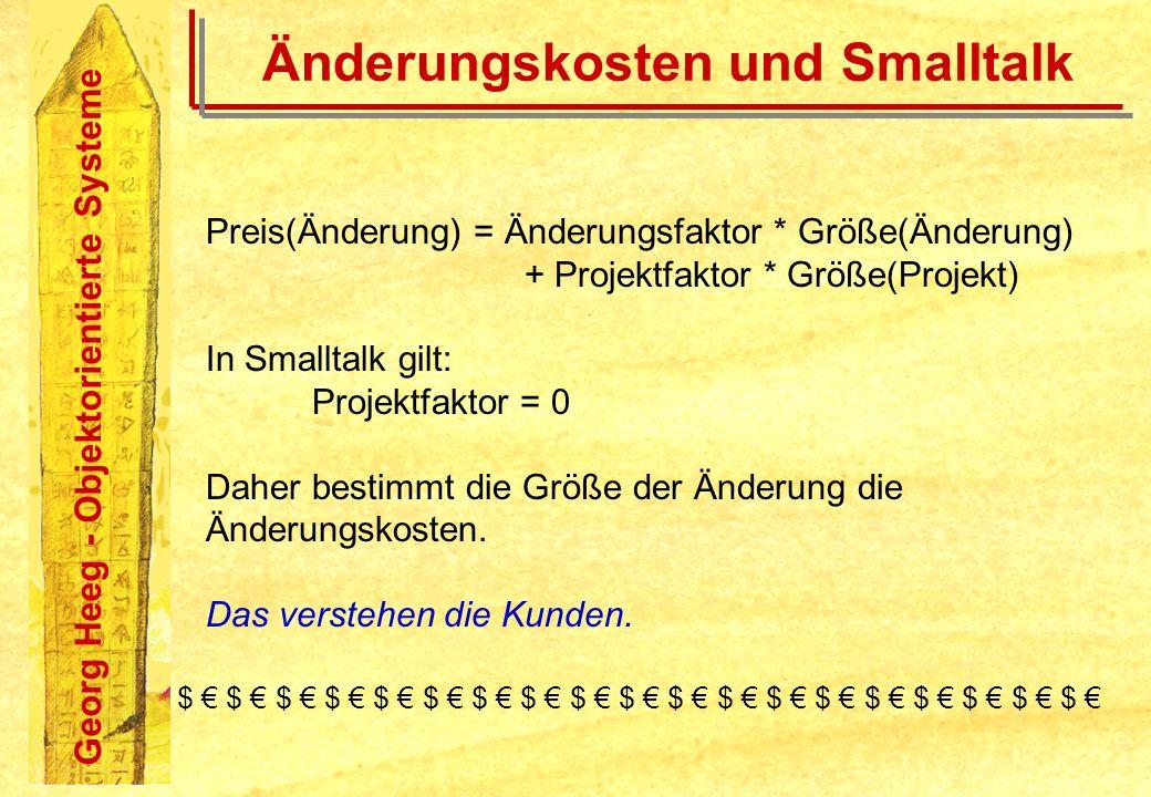 Änderungskosten und Smalltalk