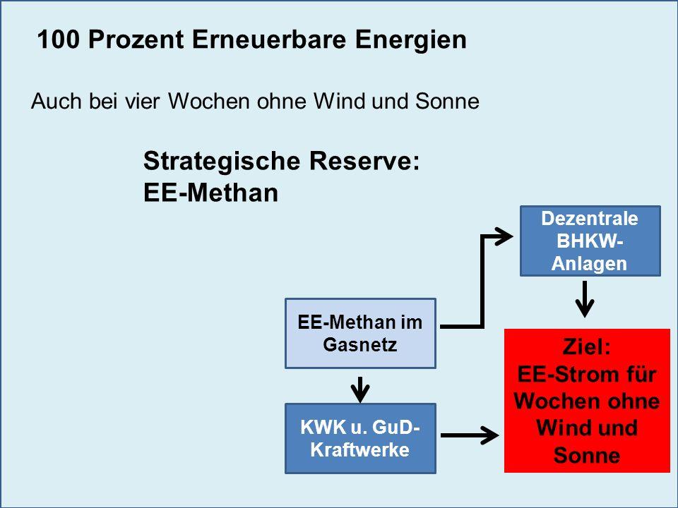 Dezentrale BHKW-Anlagen EE-Strom für Wochen ohne Wind und Sonne