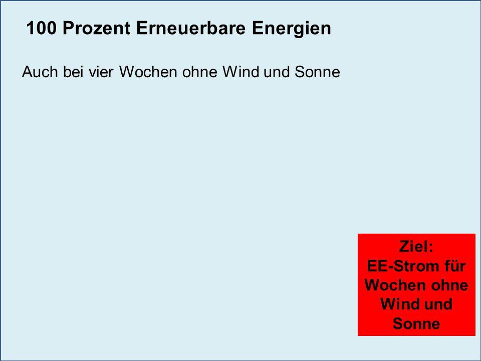 EE-Strom für Wochen ohne Wind und Sonne