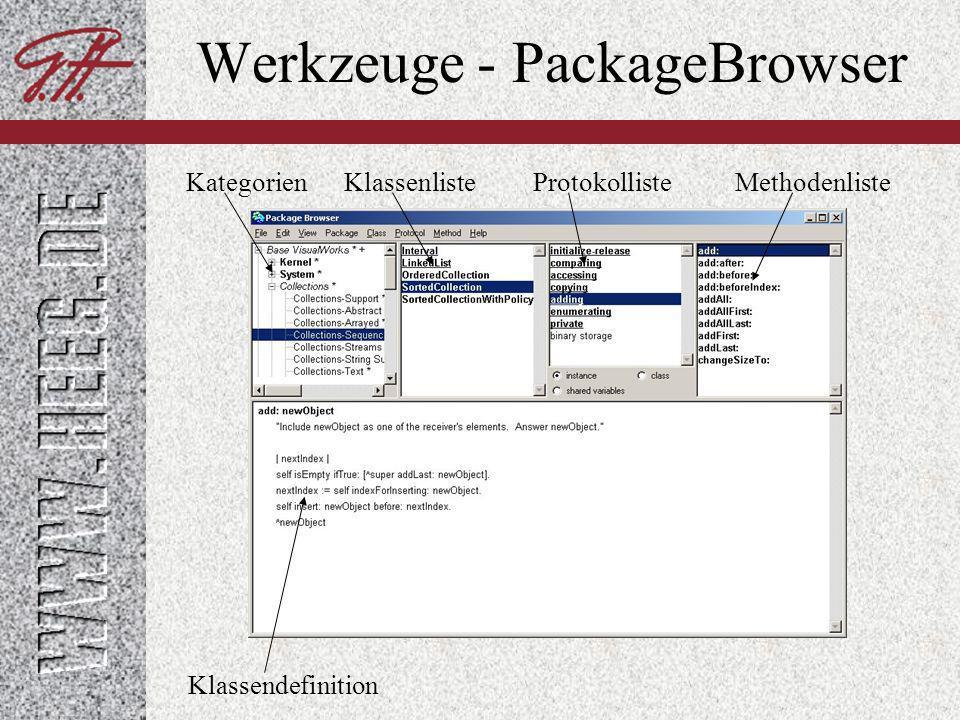 Werkzeuge - PackageBrowser