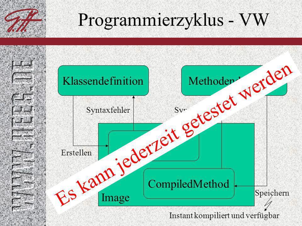 Programmierzyklus - VW
