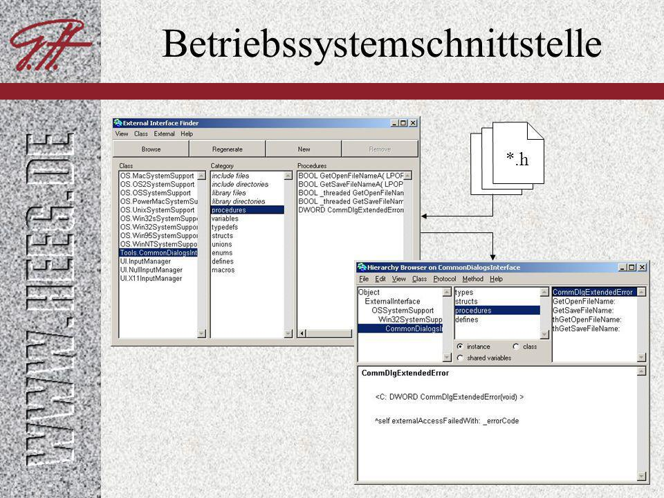 Betriebssystemschnittstelle