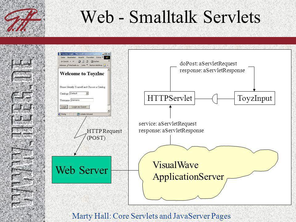 Web - Smalltalk Servlets