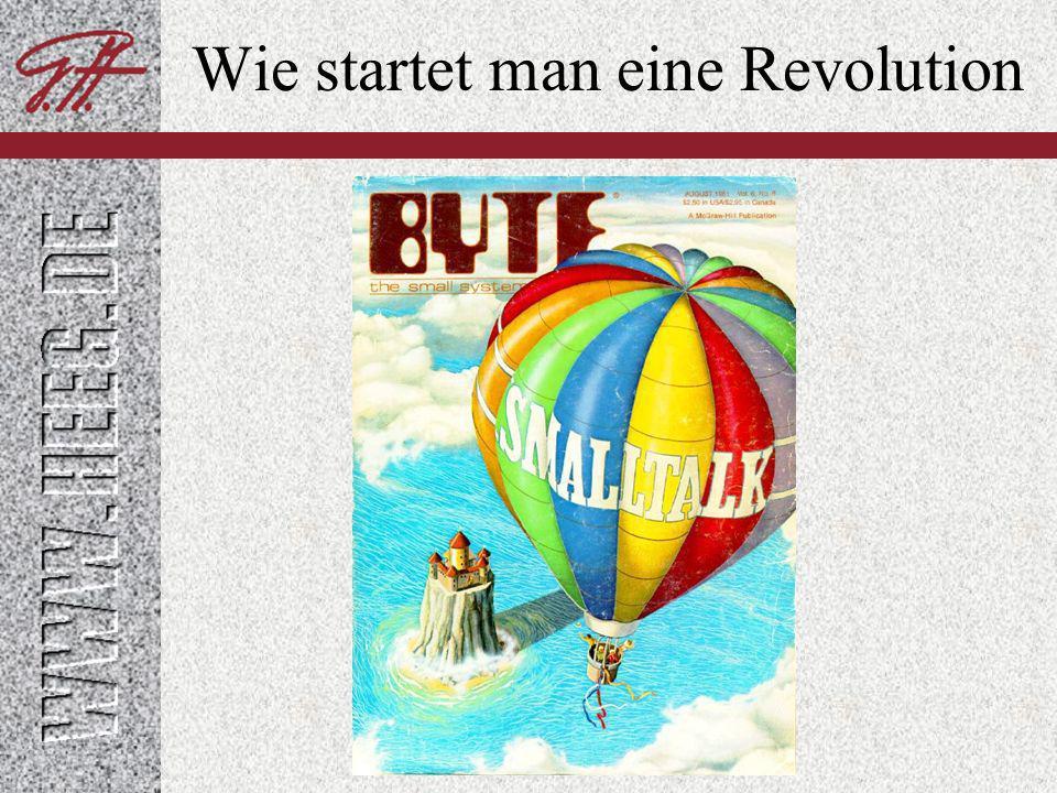 Wie startet man eine Revolution