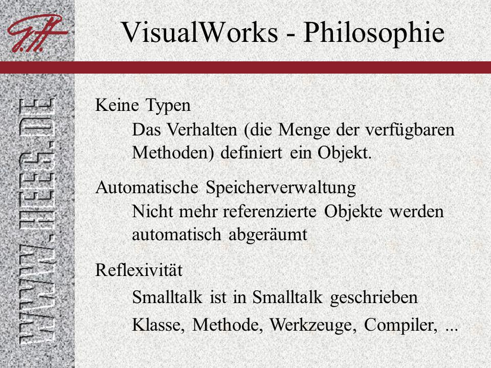 VisualWorks - Philosophie