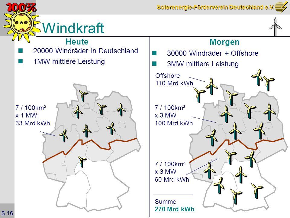 Windkraft Heute Morgen 20000 Windräder in Deutschland