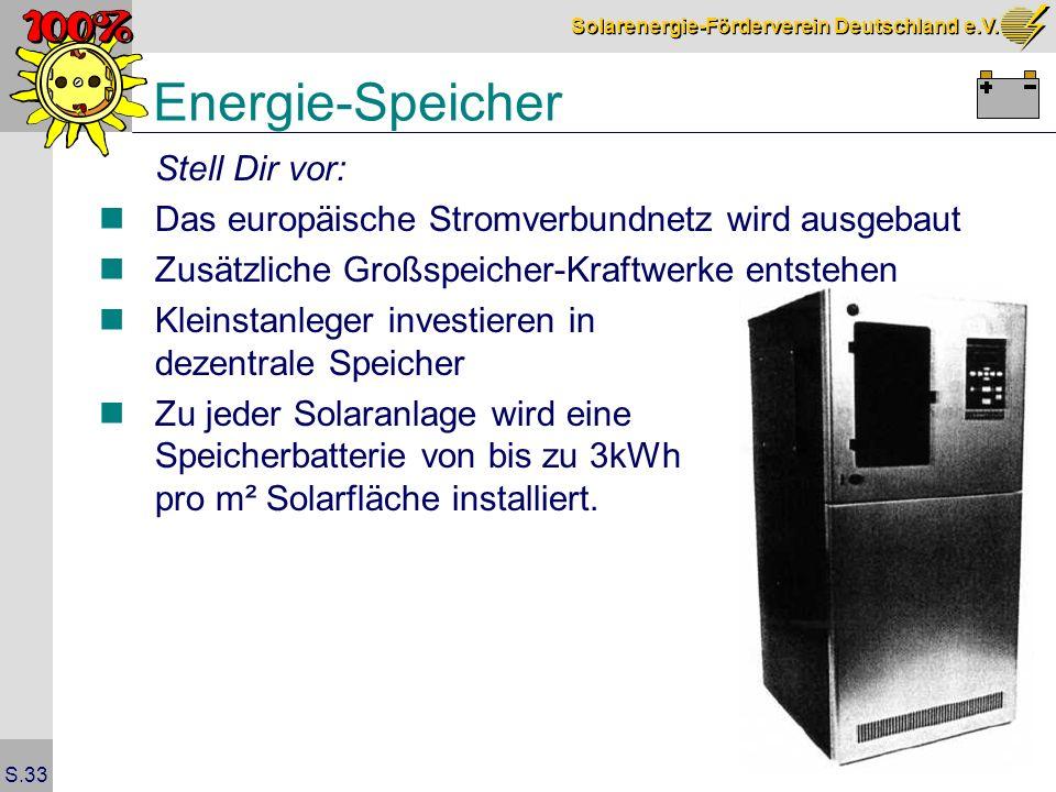 Energie-Speicher Stell Dir vor:
