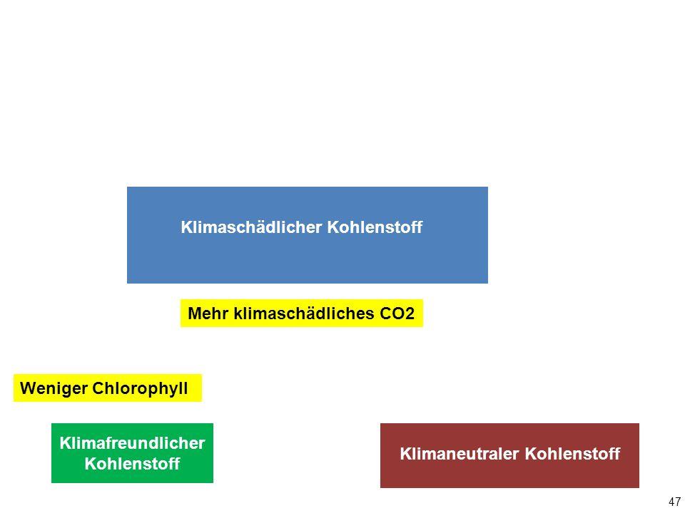 Klimaschädlicher Kohlenstoff