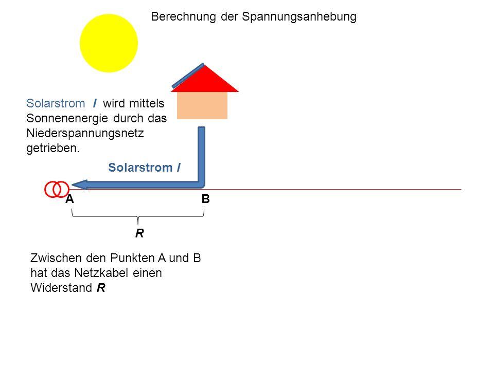 Berechnung der Spannungsanhebung
