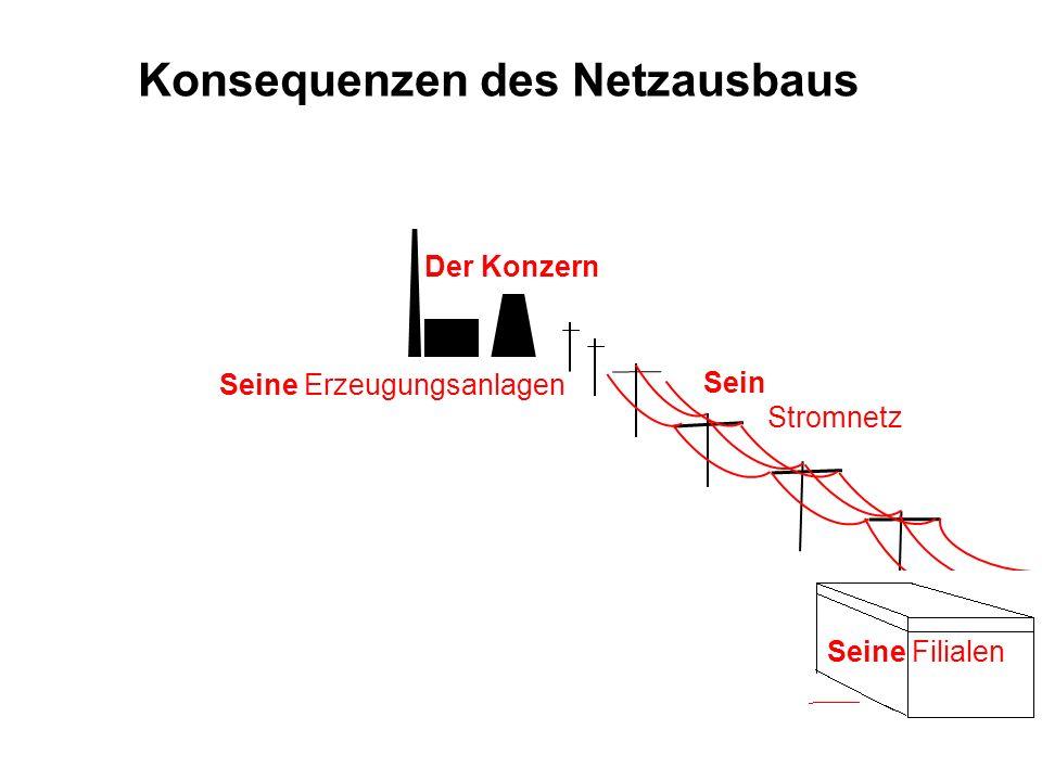 Konsequenzen des Netzausbaus
