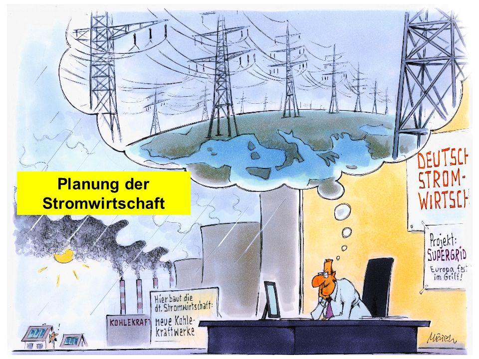 Planung der Stromwirtschaft