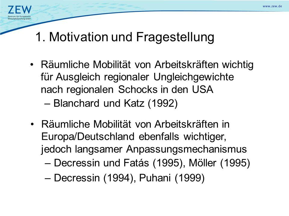 1. Motivation und Fragestellung
