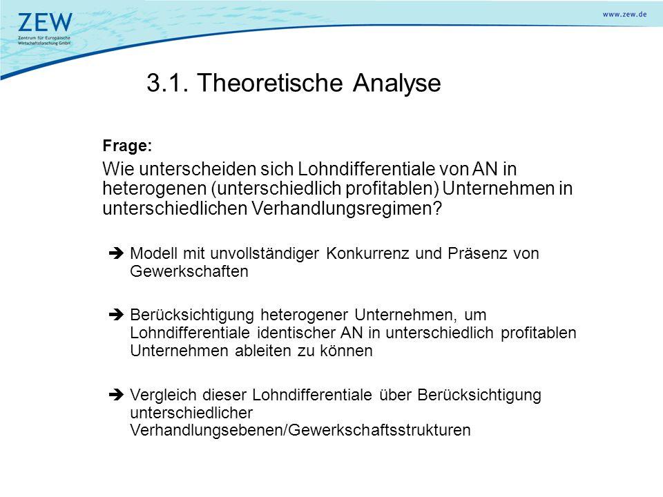 3.1. Theoretische Analyse Frage: