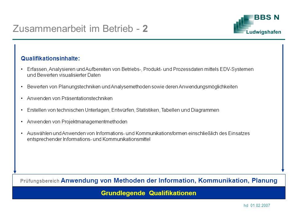 Zusammenarbeit im Betrieb - 2