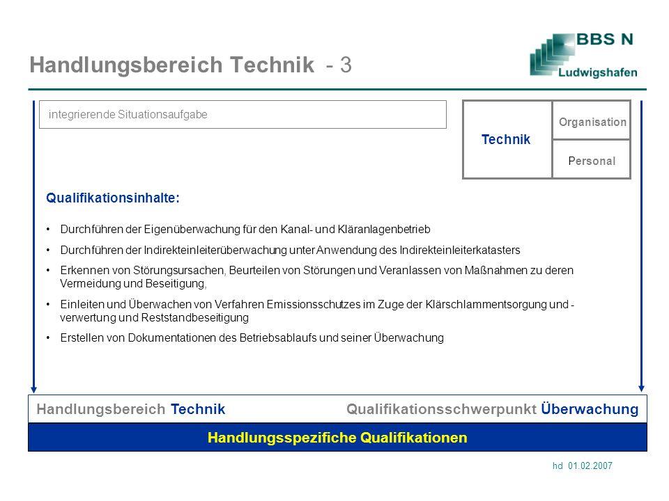 Handlungsbereich Technik - 3