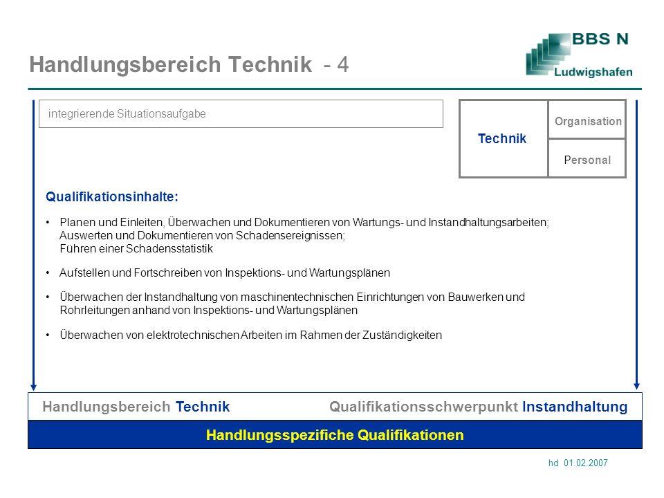 Handlungsbereich Technik - 4