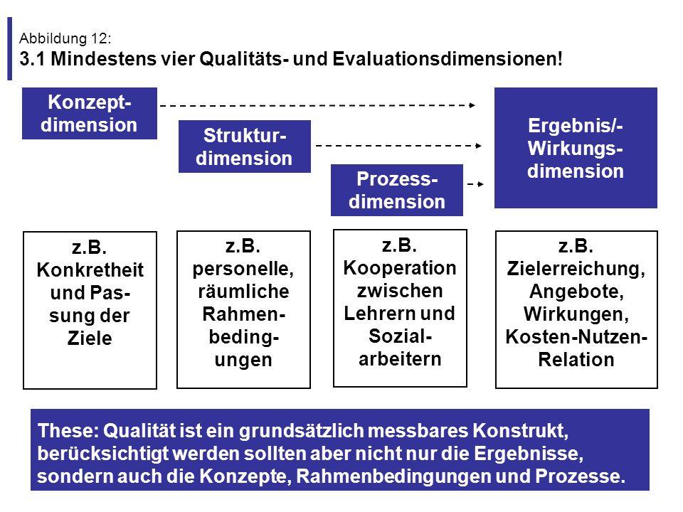 Ergebnis/-Wirkungs-dimension Struktur-dimension