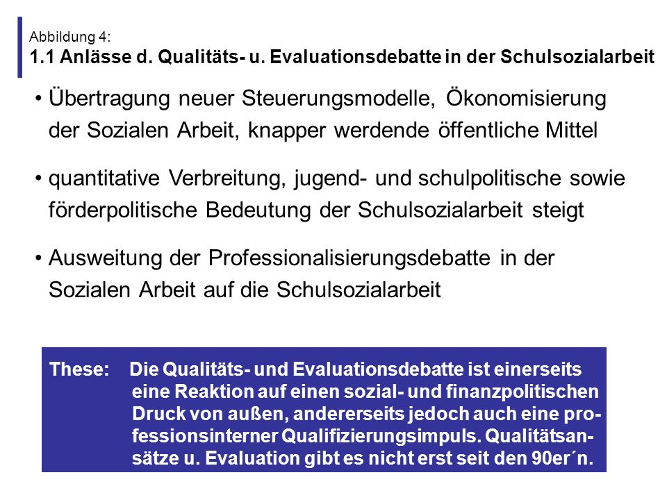 Abbildung 4: 1. 1 Anlässe d. Qualitäts- u