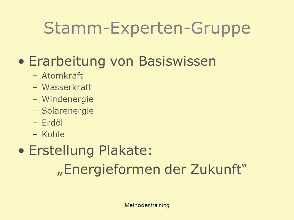 Stamm-Experten-Gruppe