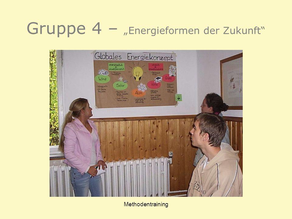 """Gruppe 4 – """"Energieformen der Zukunft"""