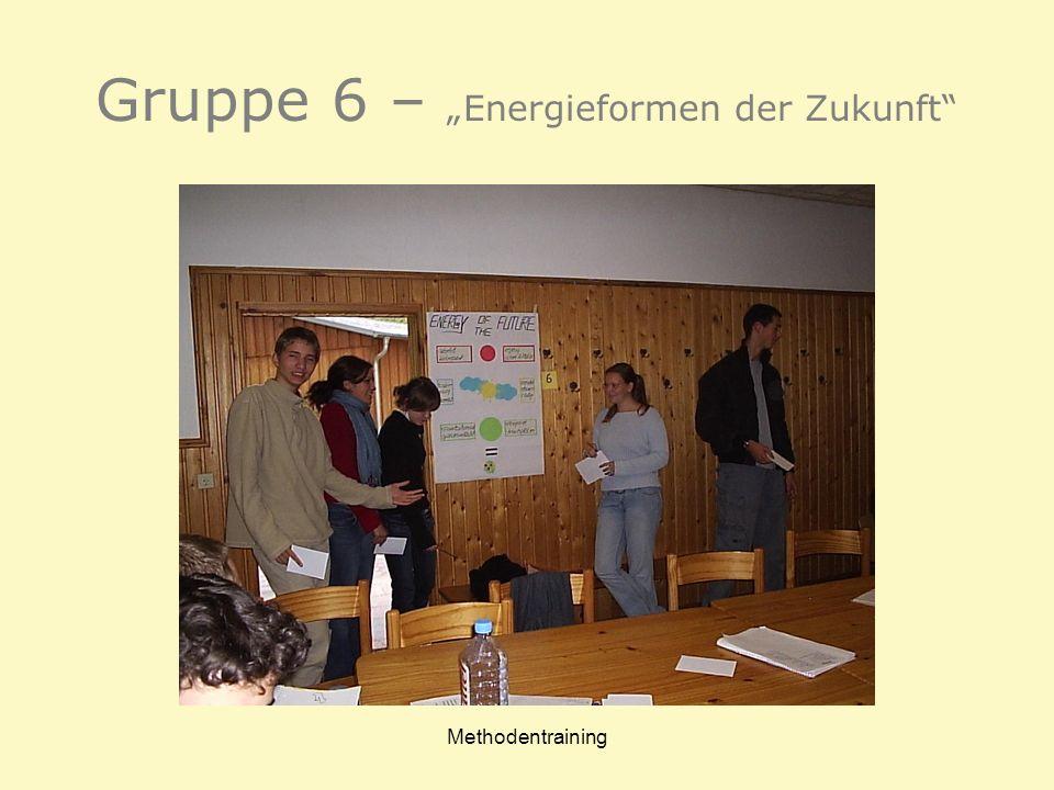 """Gruppe 6 – """"Energieformen der Zukunft"""