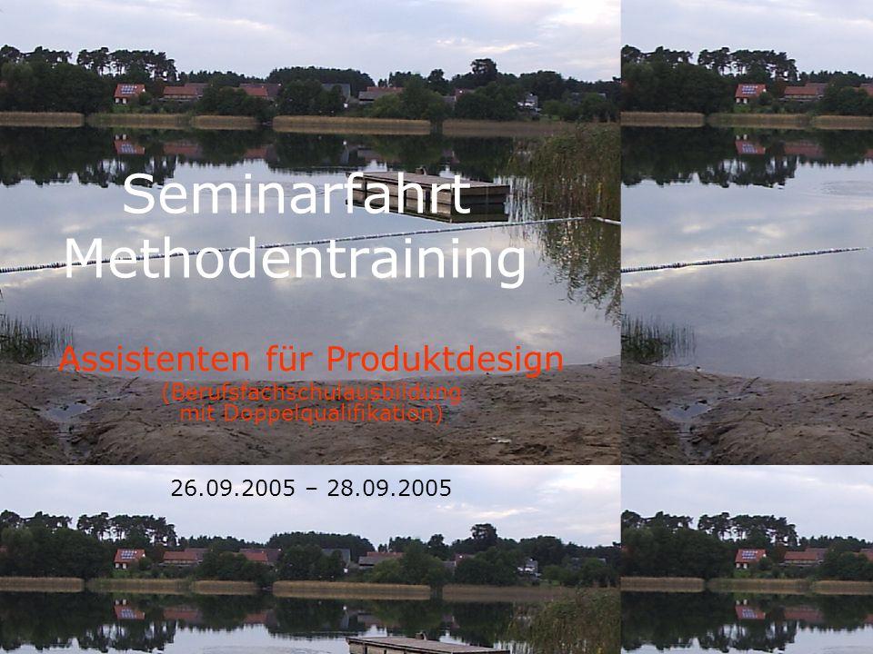 Seminarfahrt Methodentraining